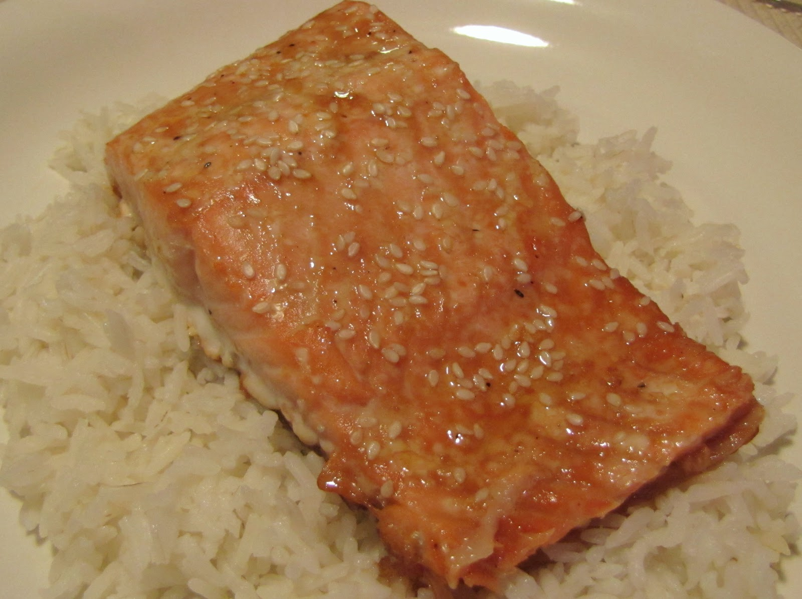Food Miscellaneous...: Soy Glazed Salmon