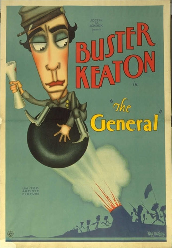 Keaton's The General poster