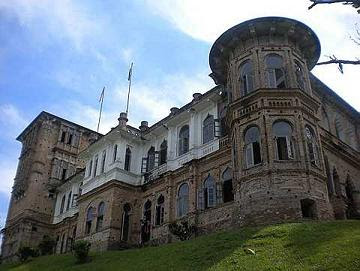 Historical monument : Kellie's Castle is an unfinished mansion built by Scottish planter for his wife