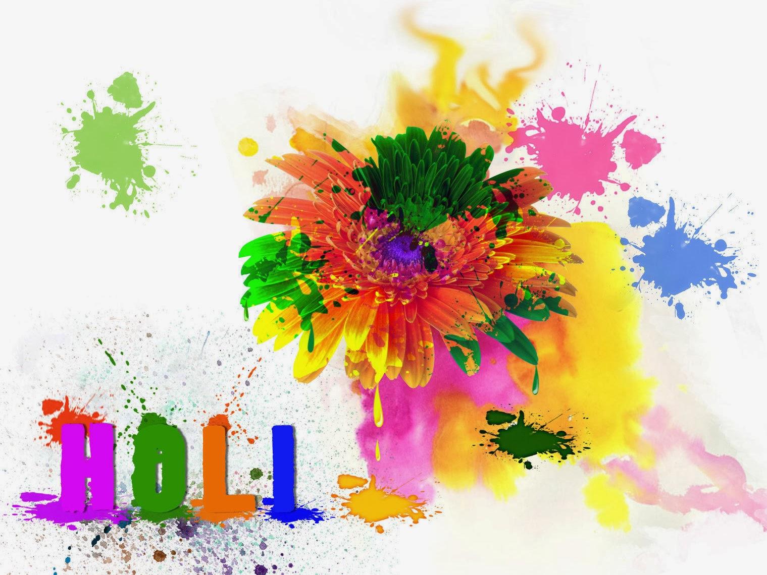 Holi Colors Wallpaper