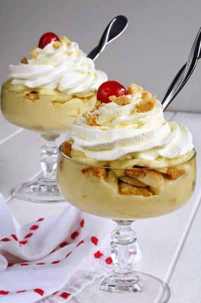 Cách làm bánh pudding chuối bằng lò vi sóng