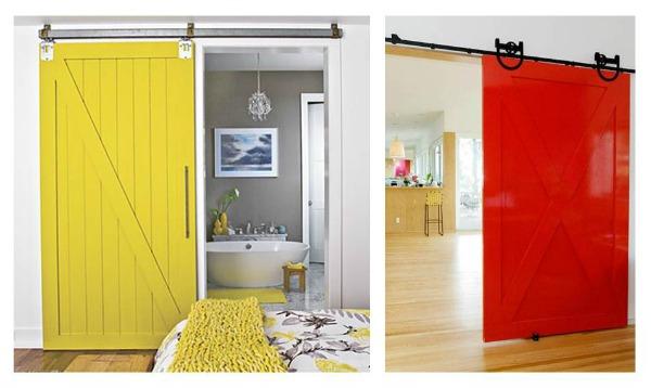 Innhogar puertas correderas tipo granero para interiores for Puertas correderas que se esconden