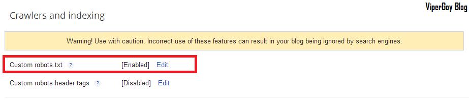 Gambar Cara Memasang Kode Robot.txt Di Blogger