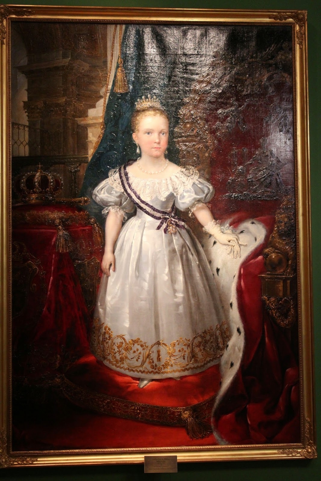 Cuadro de Isabel II