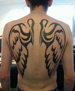 Tatoos y Tatuajes de Alas, parte 2