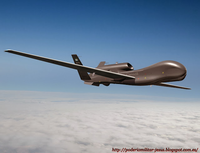 Aeronaves  no tripuladas y Drones  de todo el mundo. Noticias,comentarios,imagenes,videos. - Página 3 RQ-4%2BGlobal%2BHawk%2B%25282%2529