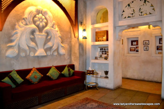 Inside Al Fanar restaurant, Dubai Festival City