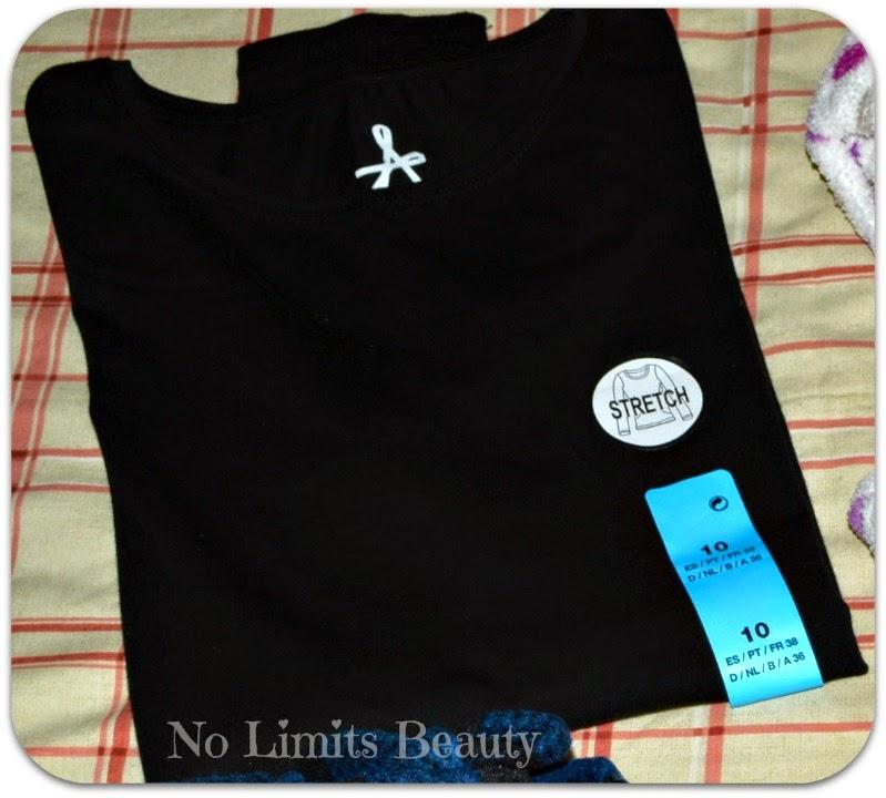 Compras Primark rebajas febrero 2015 - Camiseta stretch ML