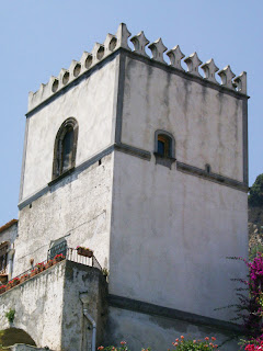 My watch tower rental in Conca dei Marini, Italy