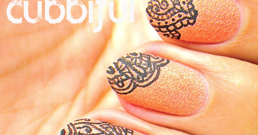 Best Mehndi For Nails : Henna mehndi nail art makedes
