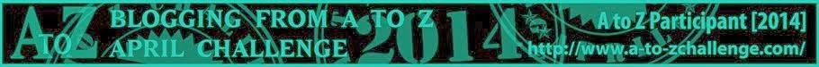 A to Z 2014 Banner