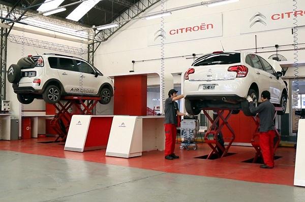 Citroën Argentina publica en internet los precios de los servicios de mantenimiento