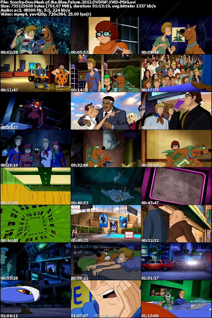 Scooby Doo Mask Of The Blue Falcon 2012 DVDRiP XViD - SML