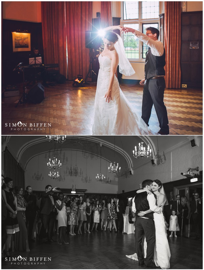 First dance Taunton School wedding