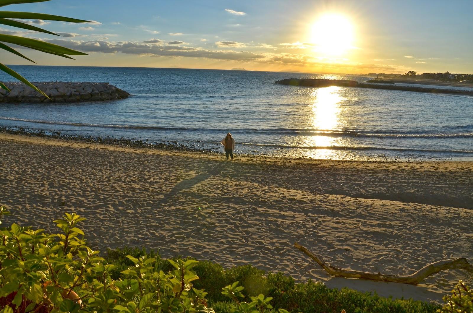 Silhouette Sunset Puerto Banus JustMelKate