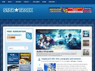 Star Track Wordpress Template
