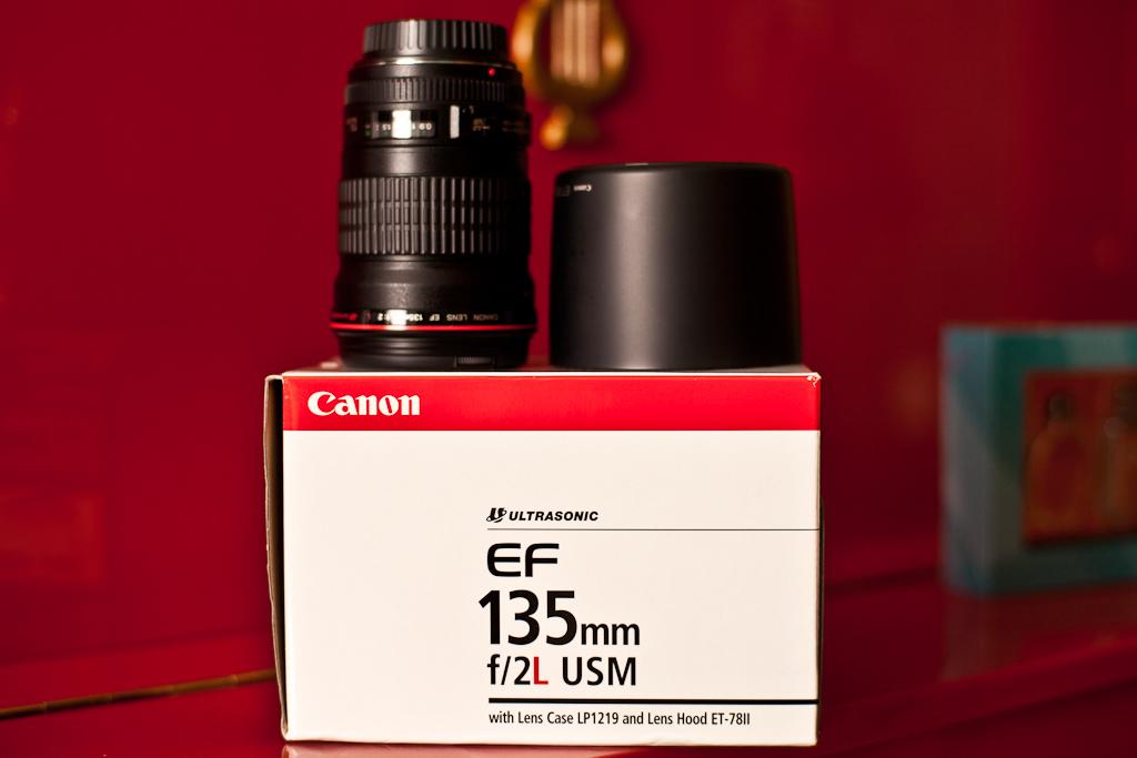 Canon EF 135mm F/2...Он приехал..