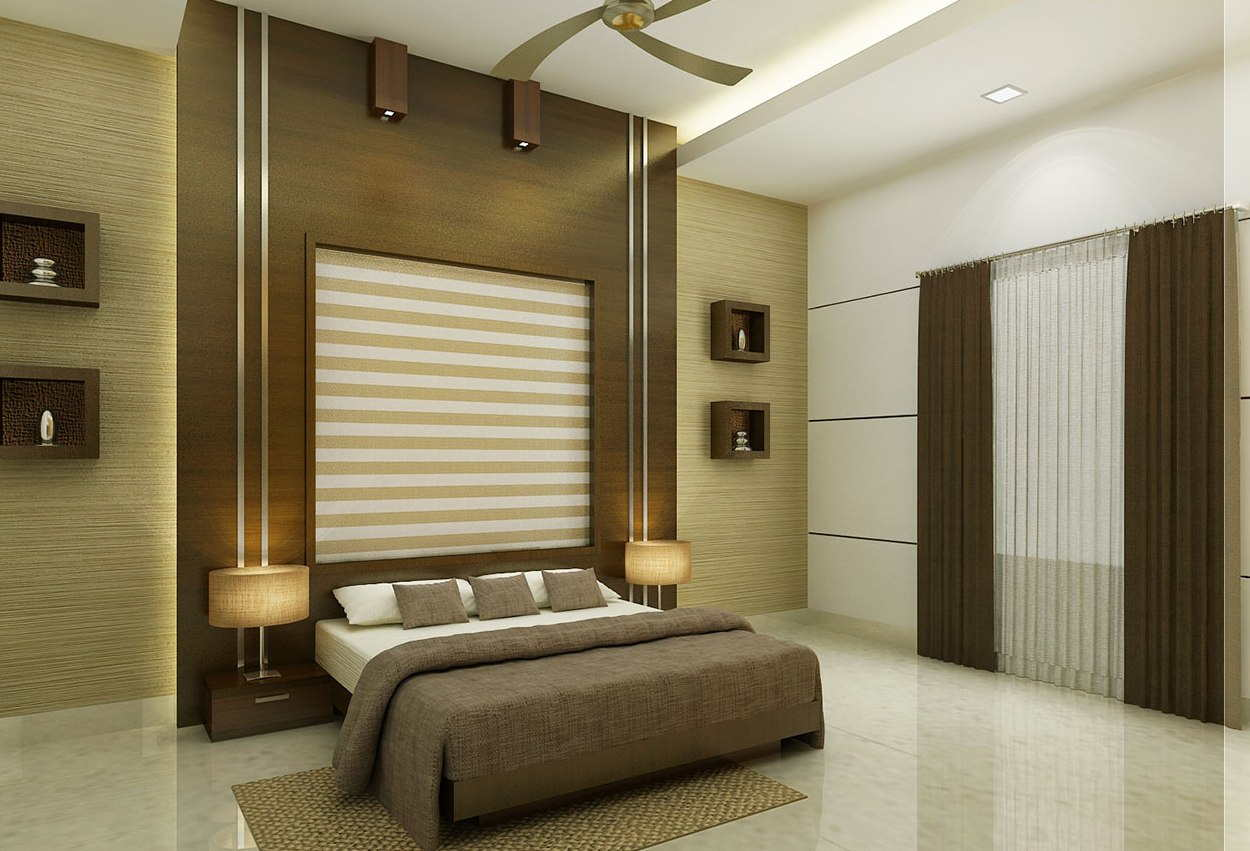 11 attractive bedroom design ideas that will make your for Interior design for living room and bedroom