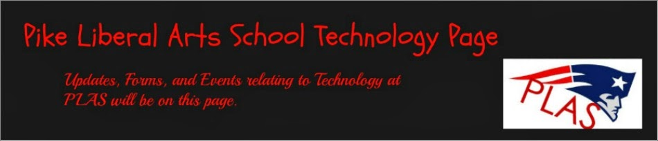 Pike Liberal Arts School Technology Page