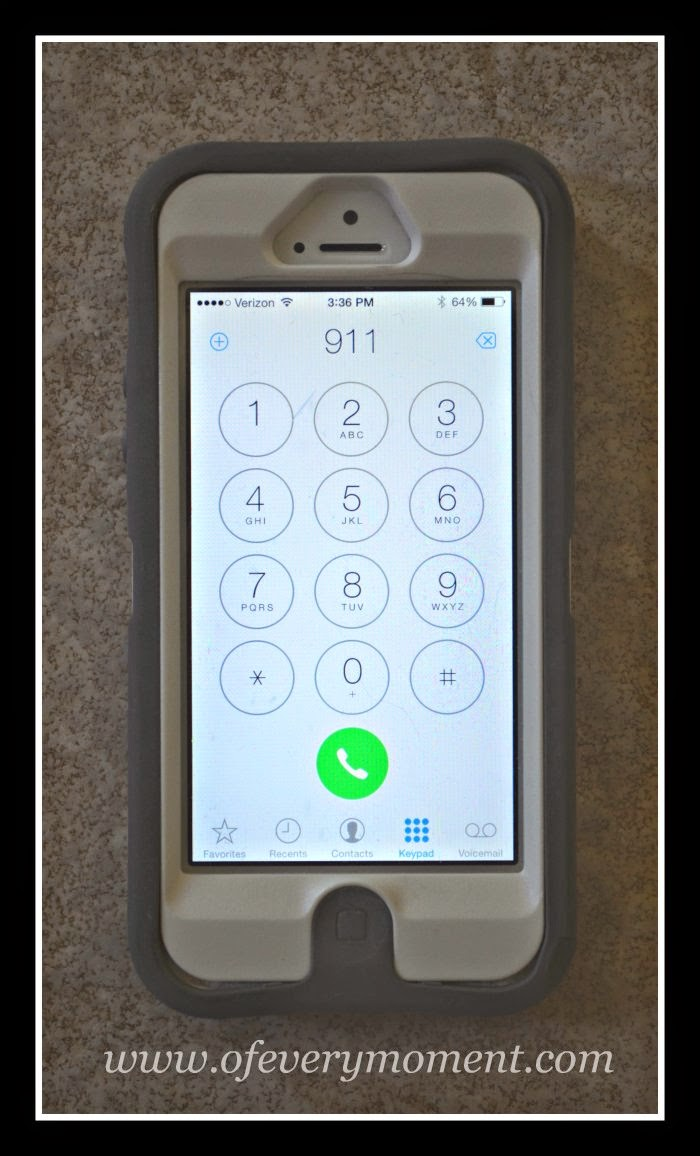 cell phone, 911, reported an attack