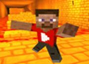 Ojogos – Minecraft Lava Run