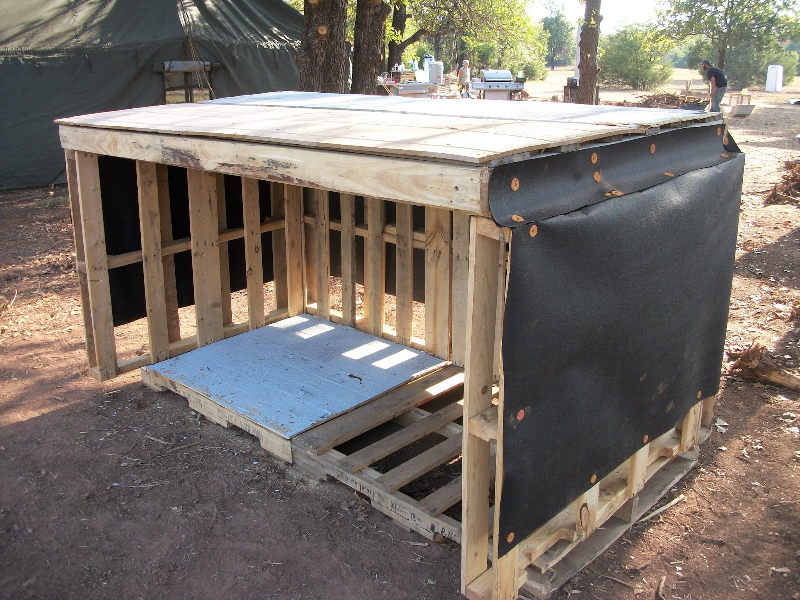 Mailbox Types Of Shelters : Sustainable earth network what can you really build with