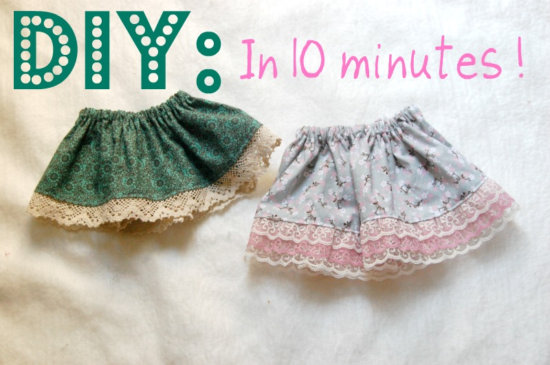 Its Not For Granted Diy Baby Toddler Skirt Tutorial