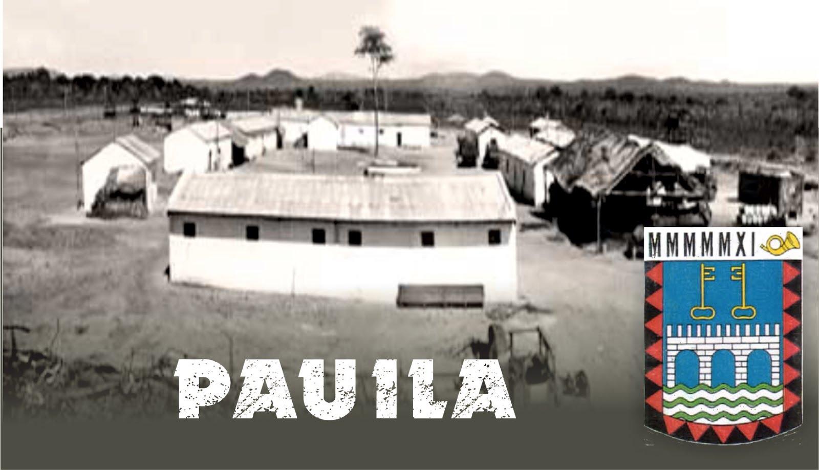 Pauíla - Sede da 1ª Companhia