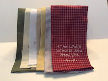 Guest Towels (available in sage, ecru, white, dijon yellow, cream/white-grey/white-red/white check