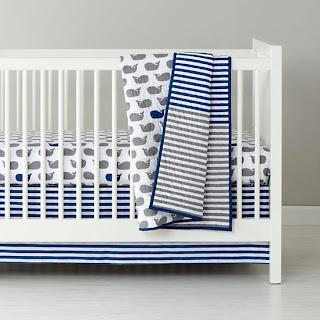 Sailor Themed Crib Bedding