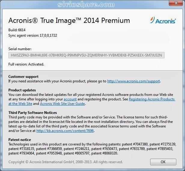 В общем приняв решение скачать acronis true image home по прямой ссылке - б