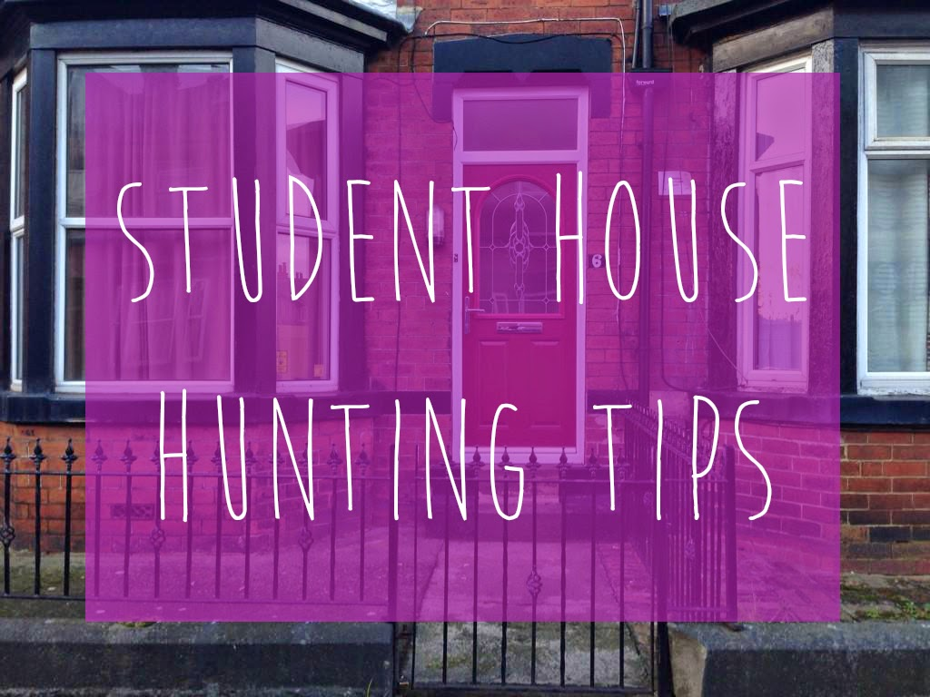 student house hunting tips