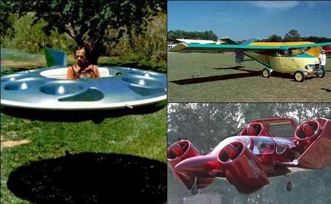 10 Konsep Mobil Terbang Unik yang pernah Dibuat di Dunia