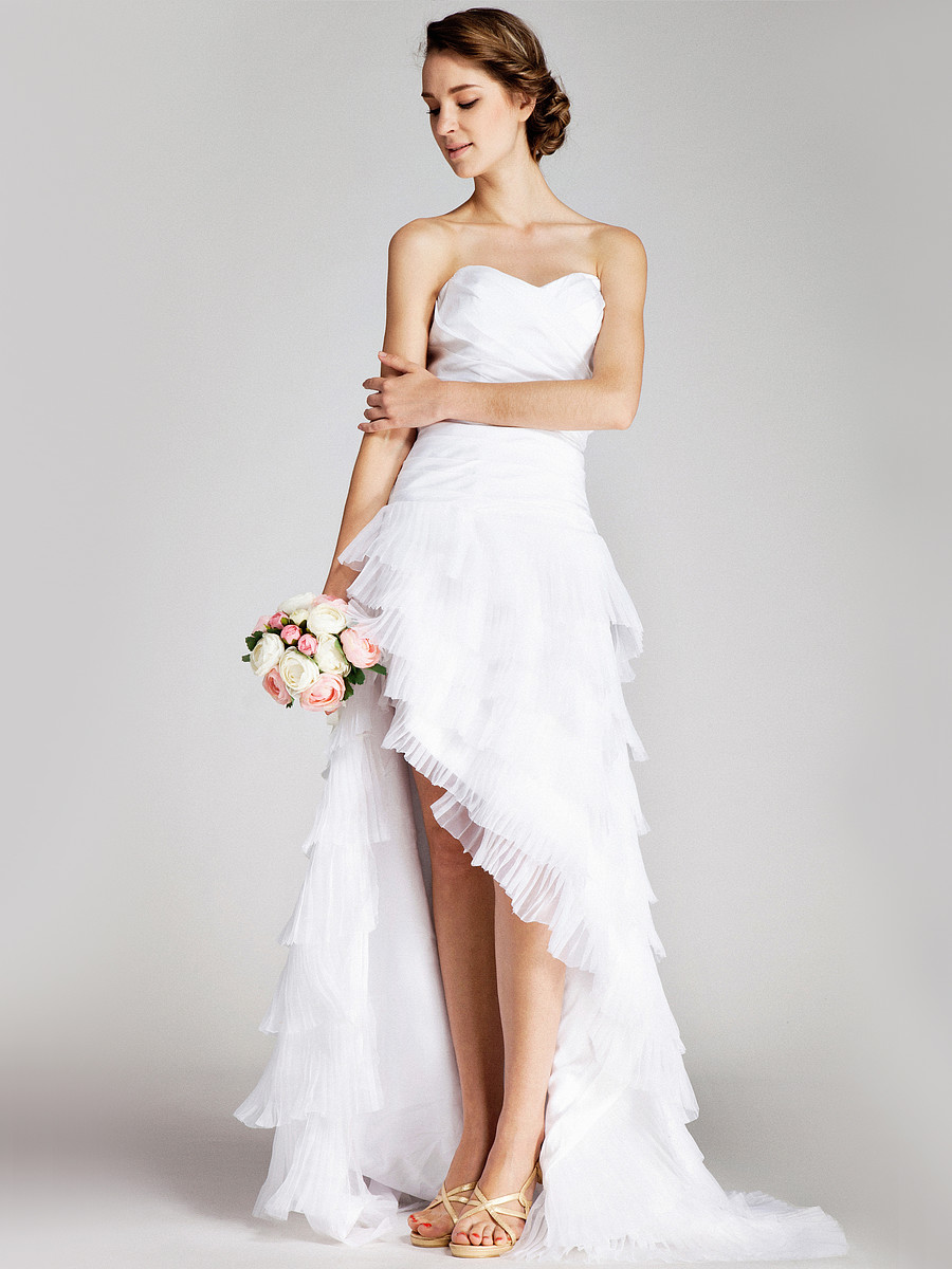 Whiteazalea high low dresses high low wedding dresses for Wedding dress high low