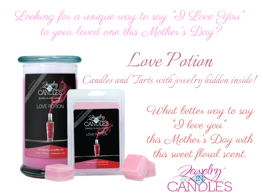 Jewelry in Candles Rep Jewelry in Candles Love Potion