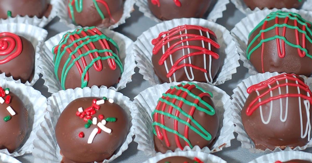 Holiday Cake Balls Recipe