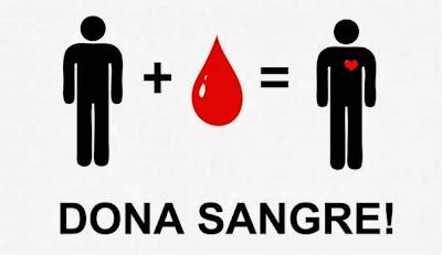 Hay que dar sangre periodicamente