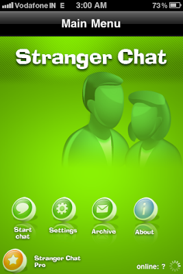 iphone stranger chat