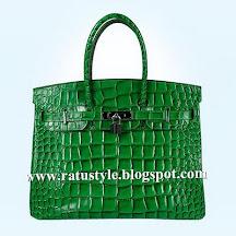 Hermes Birkin 35 Green