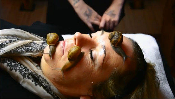 Courageous or Crazy: Snails Facial Spa