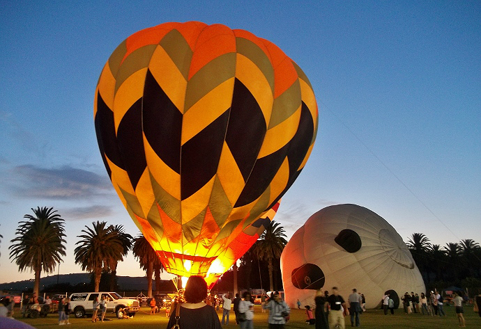 California Citrus Balloon and Wine Festival