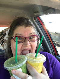 2020 Starbucks, Pineapple Matcha and Golden Ginger Drink, Wooster