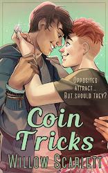 Latest release: Coin Tricks, m/m romance novel
