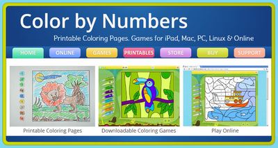 Actividades para Educación Infantil: Colorear por números