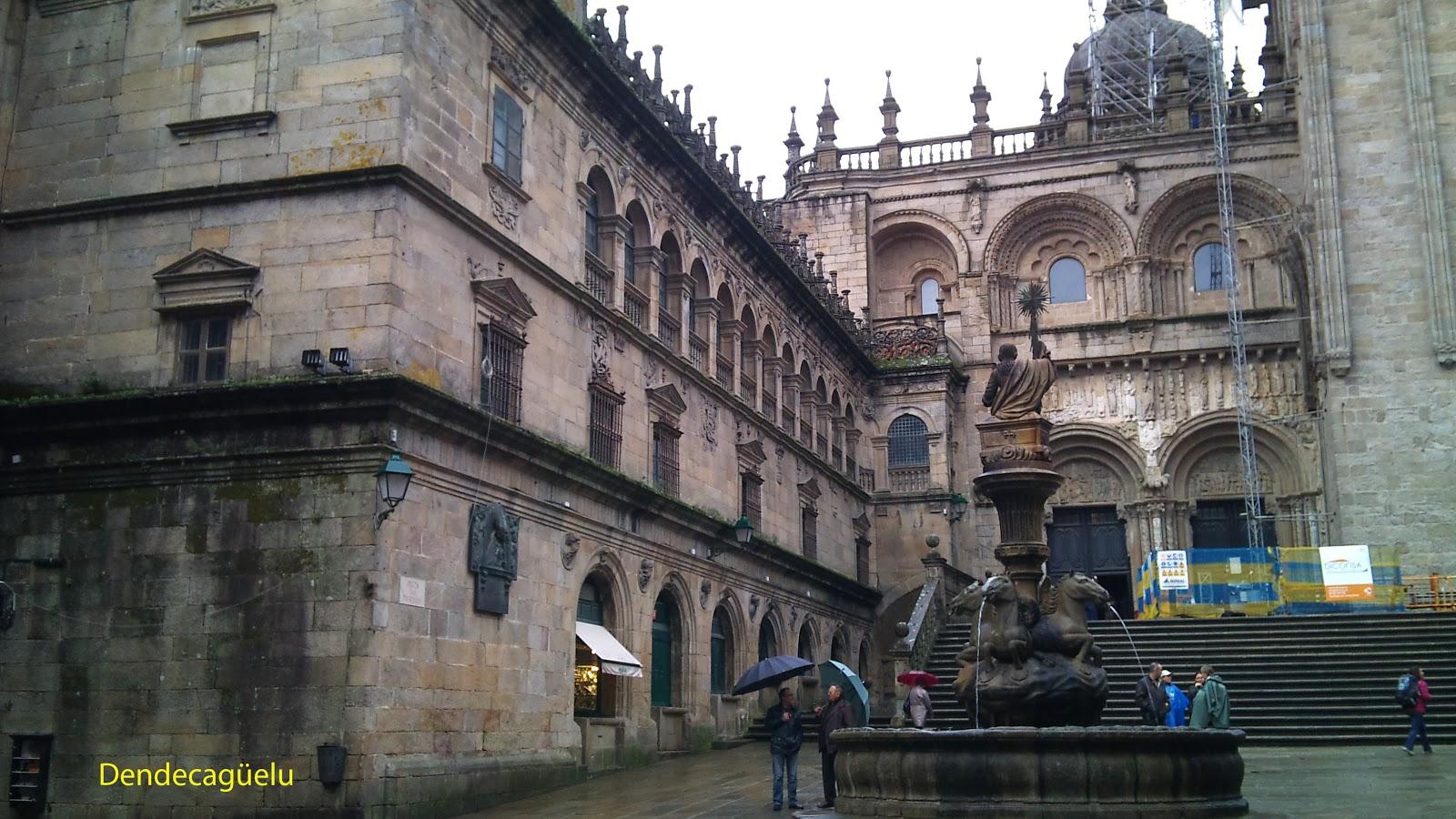 Fachada del tesoro, Catedral de Santiago de Compostela