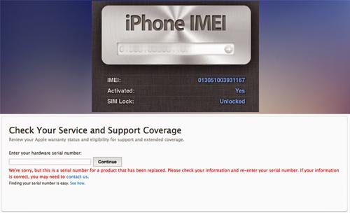 Cek Serial Number dan IMEI iPhone
