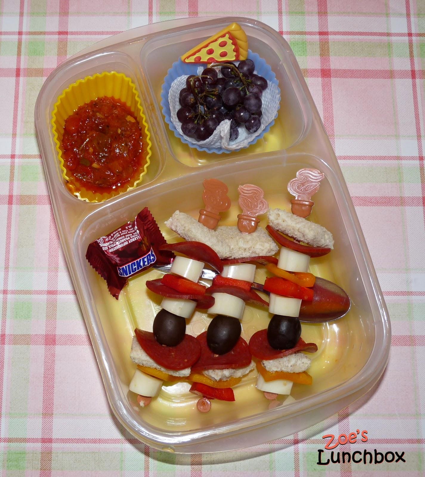 Pizza Sticks Easylunchboxes Bento