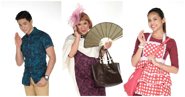 AlDub with Lola Nidora