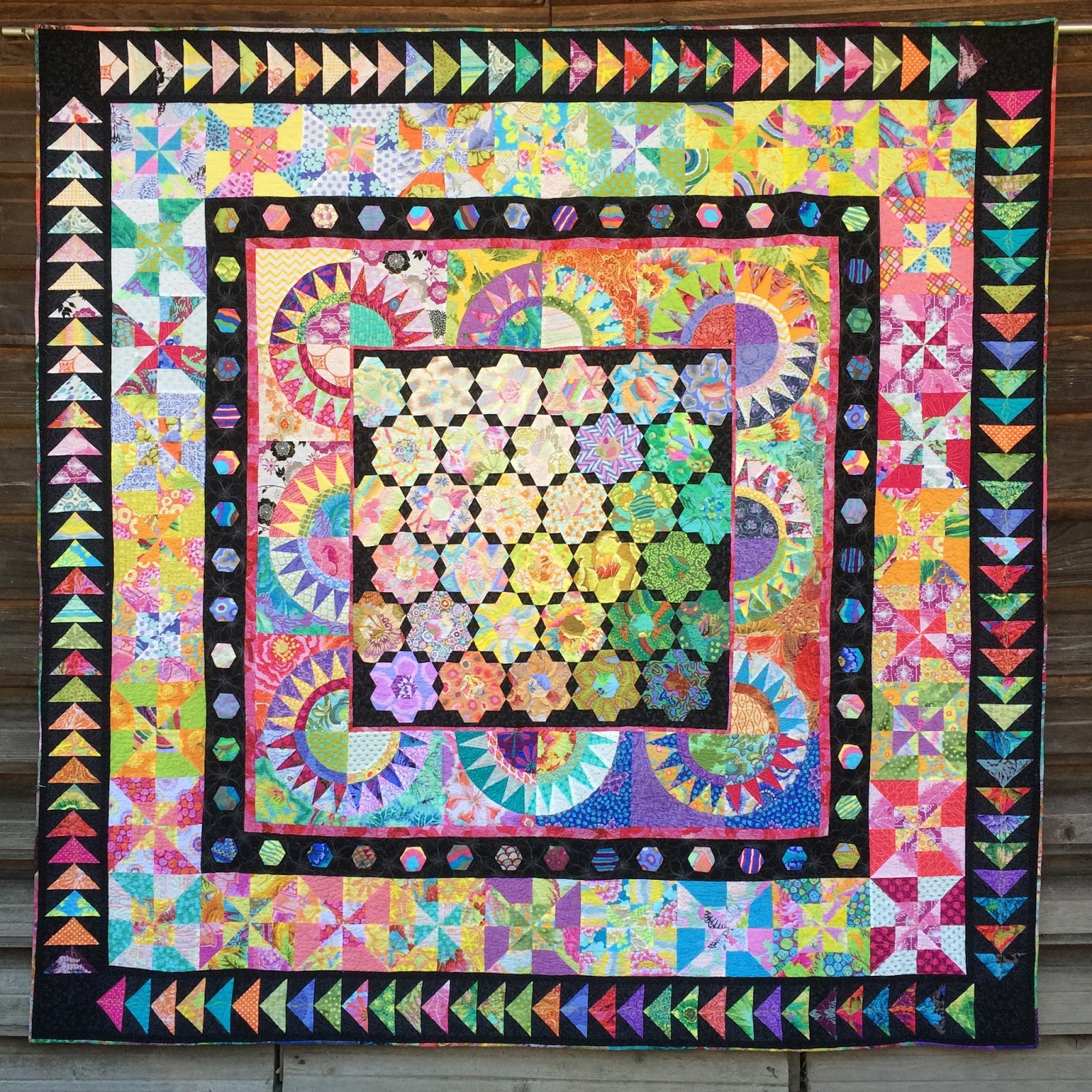 Summer 39 S Snippets Garden Party Quilt