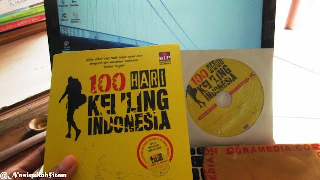 Buku 100 Hari Keliling Indonesia